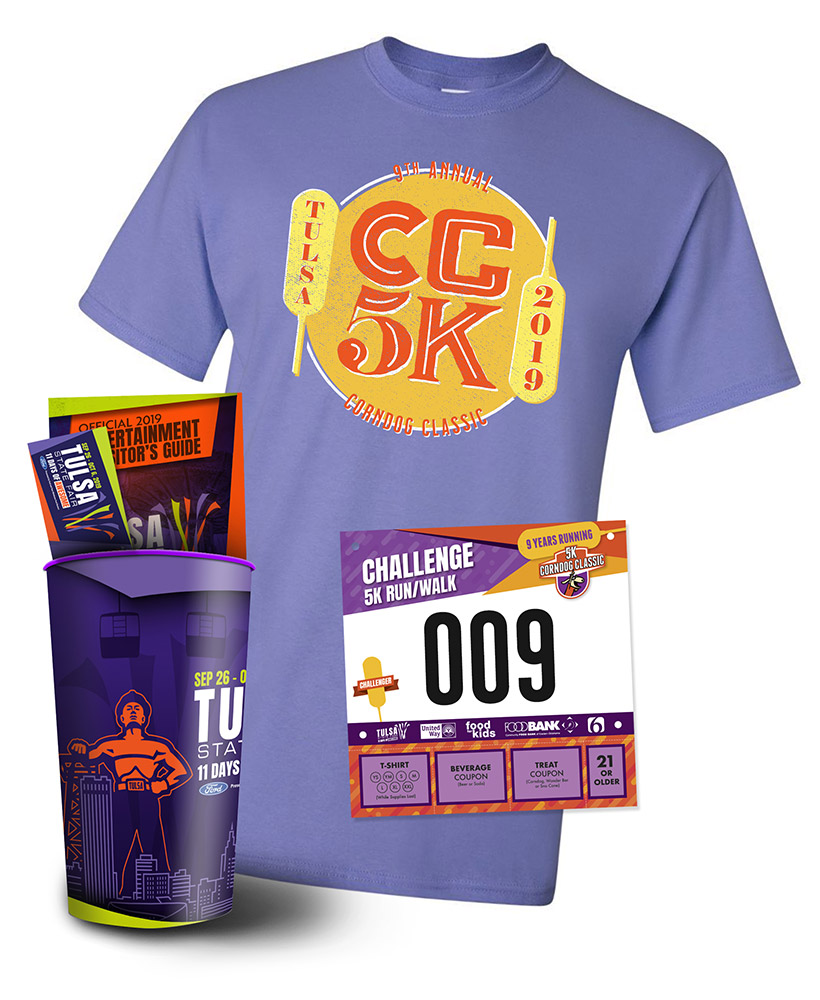 CC5K Swag Packet Contents